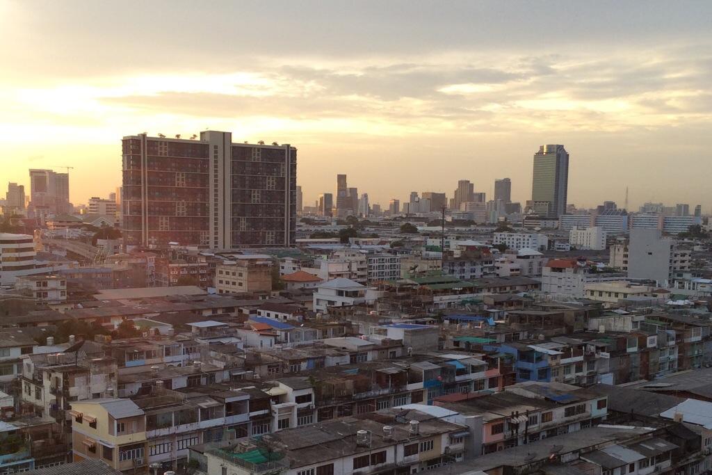 Bangkok view from top