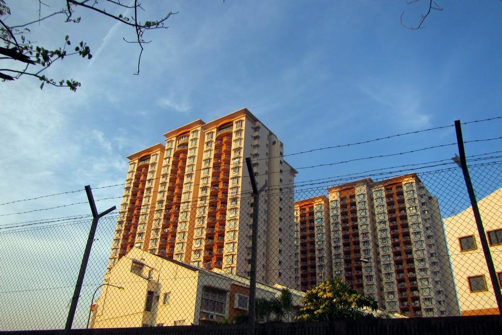 Kuala Lumpur appartment building