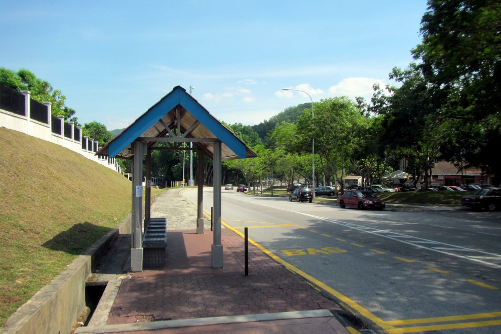 Kuala Lumpur bus stop