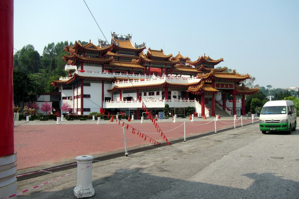 Kuala Lumpur chinese temple