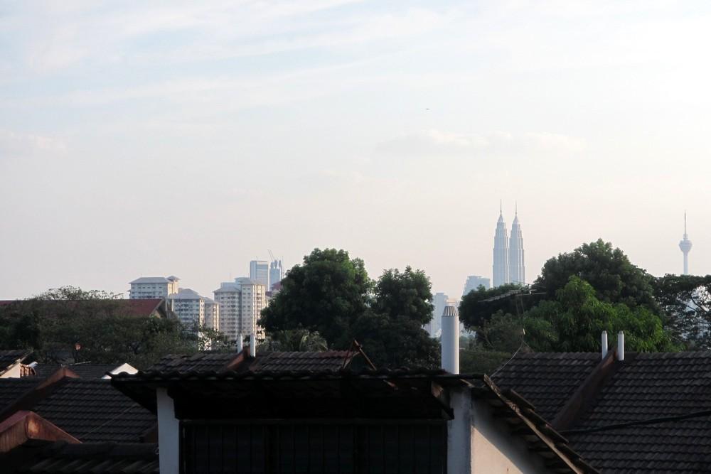 View of Kuala Lumpur from Wangsa Maju