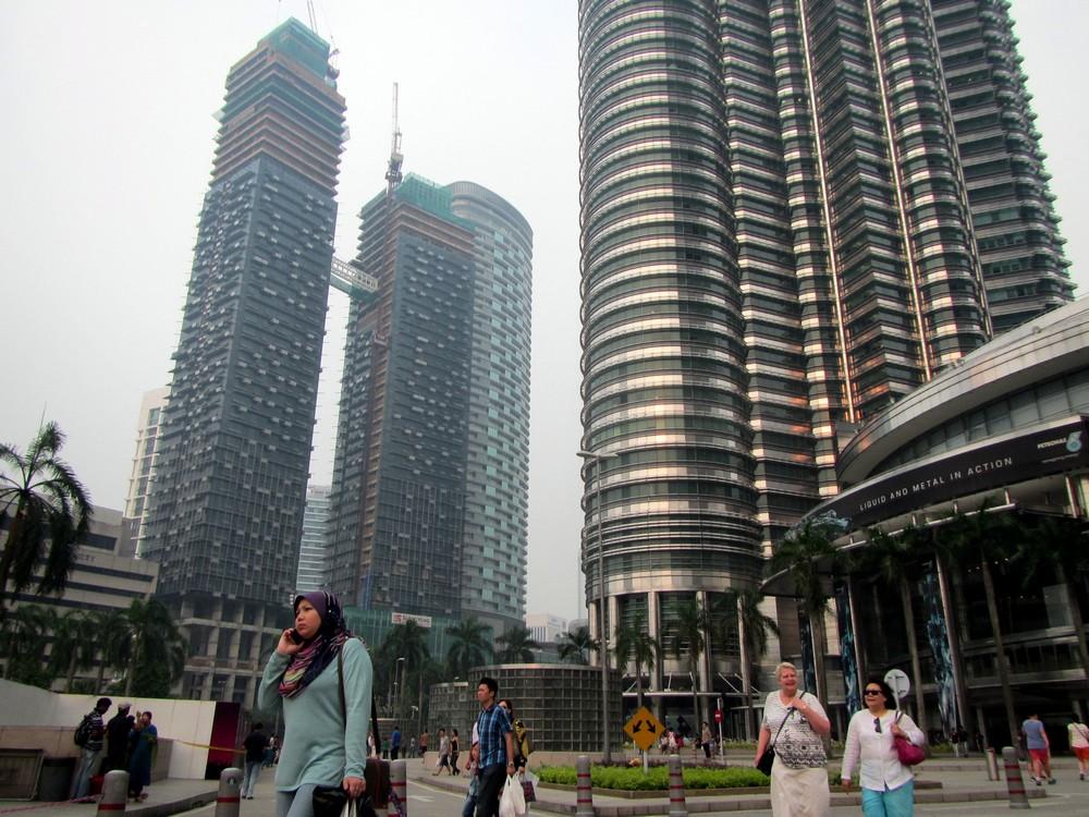 Kuala Lumpur near Petronas Towers