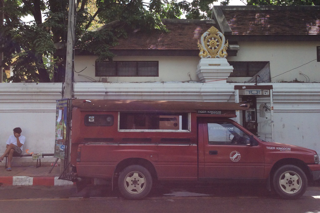 pickup truck in Chiang Mai, Thailand