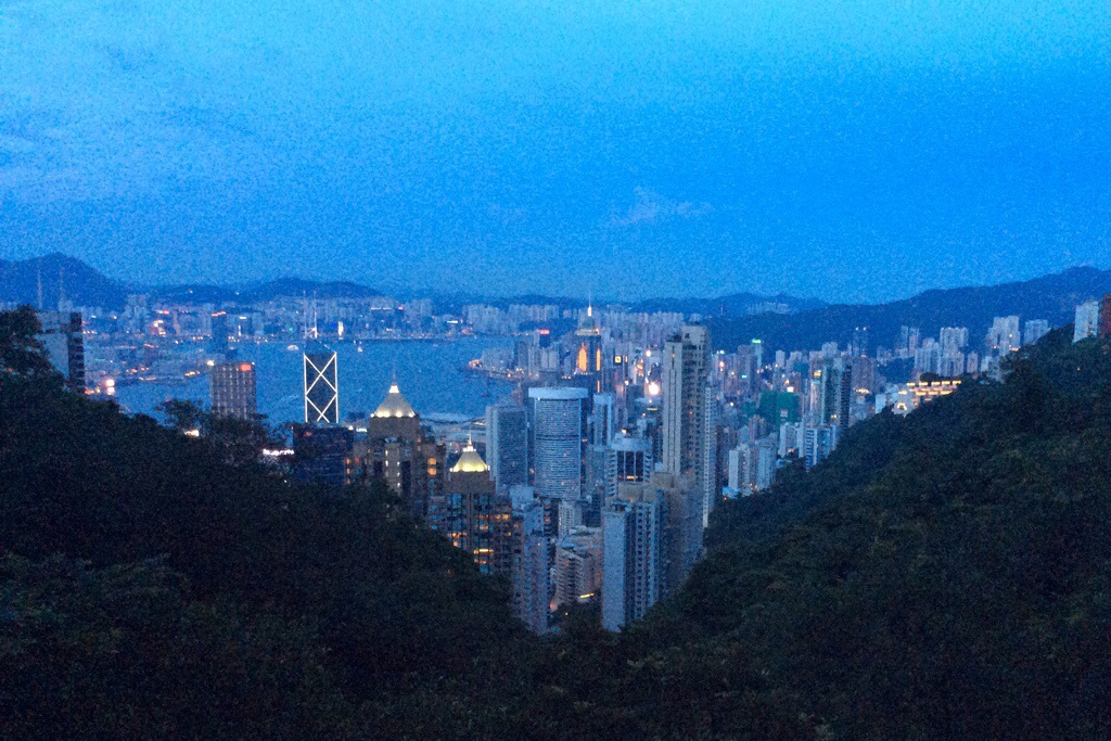 Hong Kong from above - Read This Before Going to Hong Kong