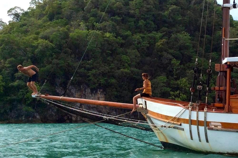 Louis and Ana - Langkawi island, Malaysia