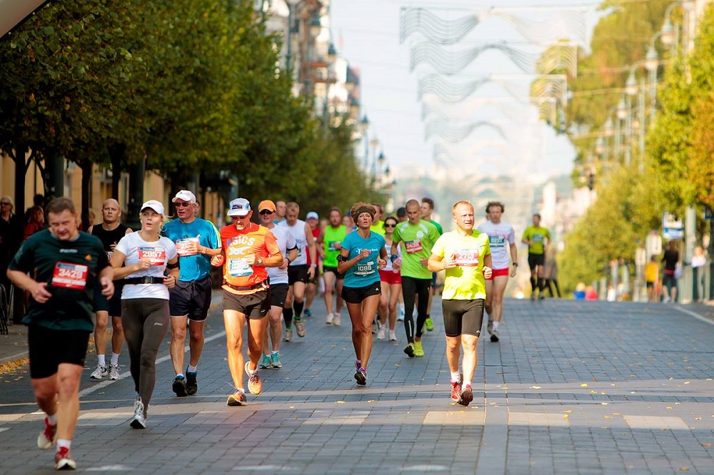 Danske Bank Vilnius marathon Kaspars