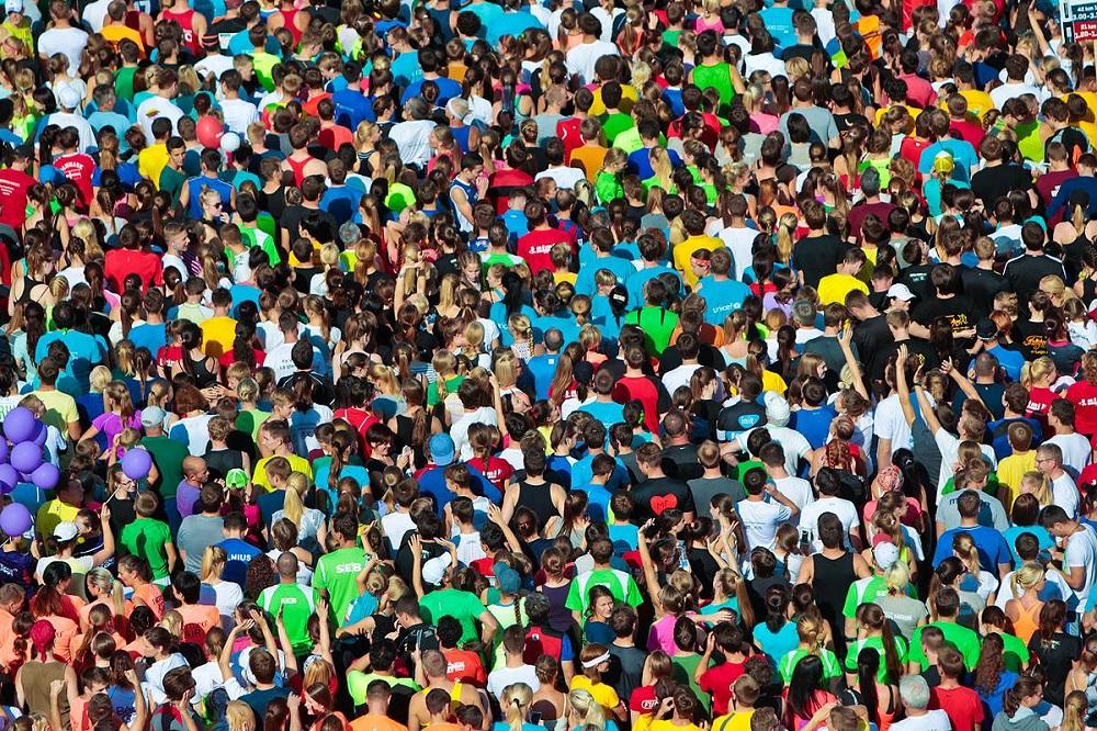 Danske Bank Vilnius marathon runners