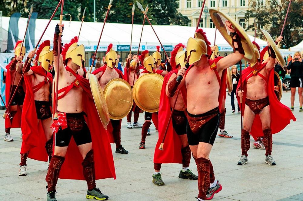 Danske Bank Vilnius marathon spartans