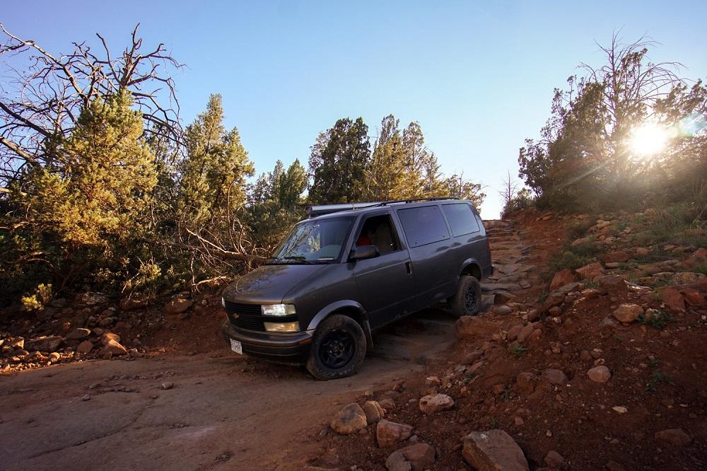 Minivan Astrida - Crossing Americas by Van