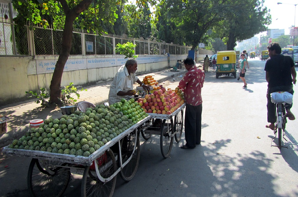 Fruit seller India Ahmedabad - What Is India Like?