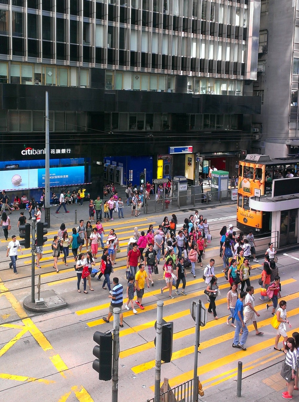 Walking - Public Transport System in Hong Kong