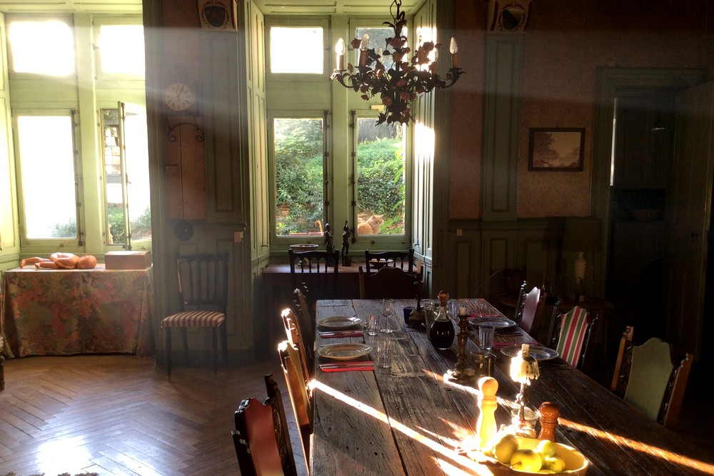 Dining room in castle France - Best Travel Moments of 2014