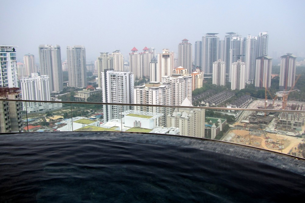 Our best travel moments of 2014 we are from latvia - Rooftop swimming pool kuala lumpur ...