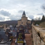 Cemetery in Burgundy, France