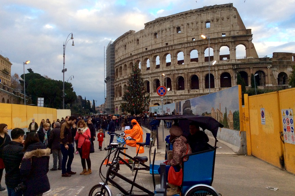near colosseo in Rome