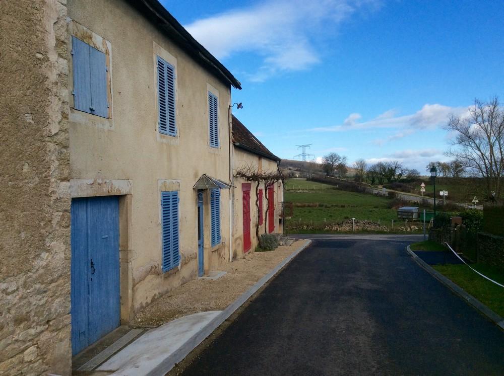 Village in Burgundy, France