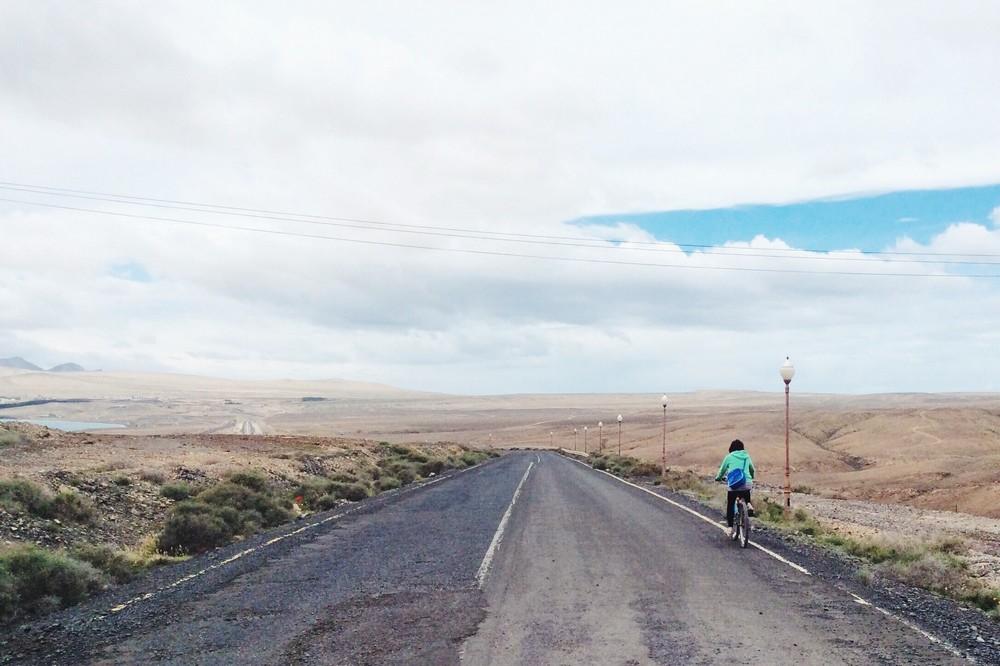 Fuerteventura is deserted