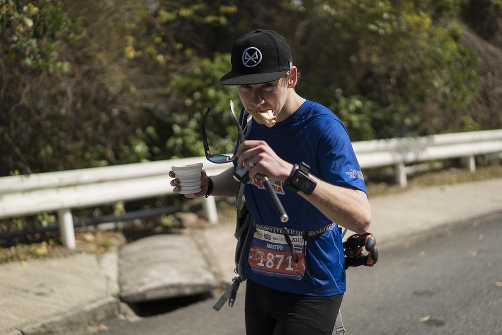Martins Zvidrins running ultra race