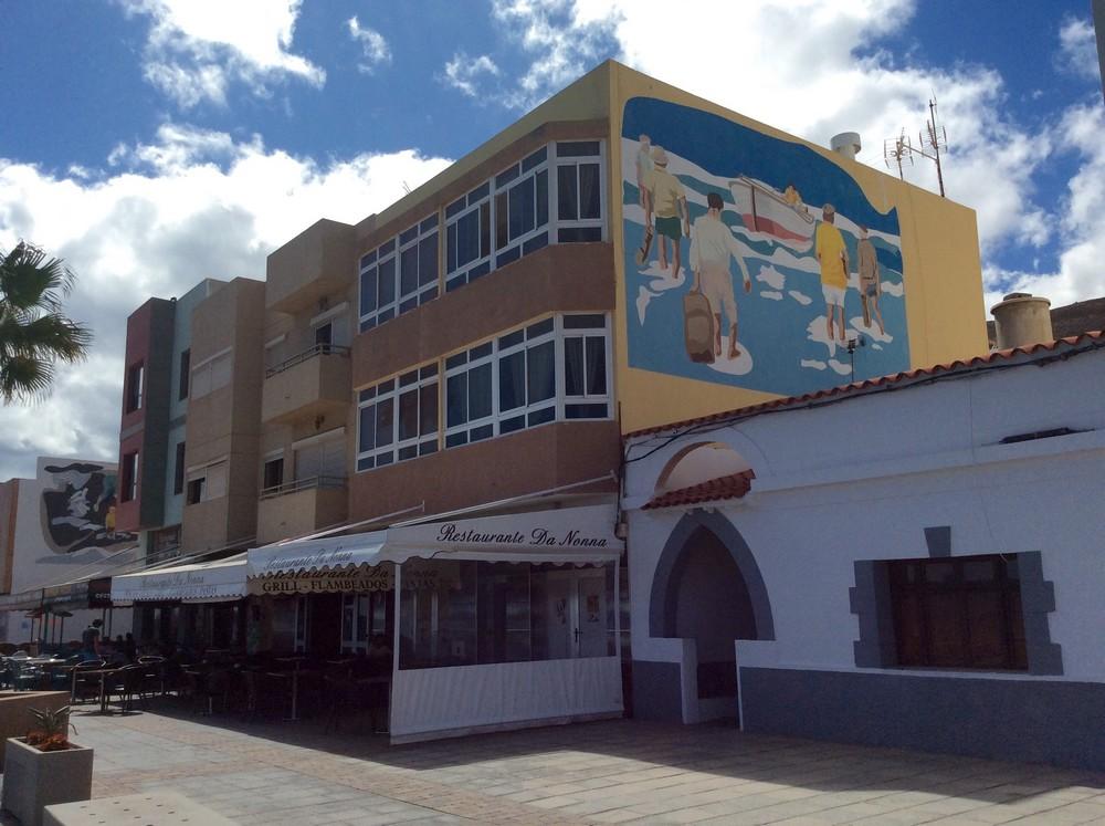 Street art Gran Tarajal Fuerteventura 2