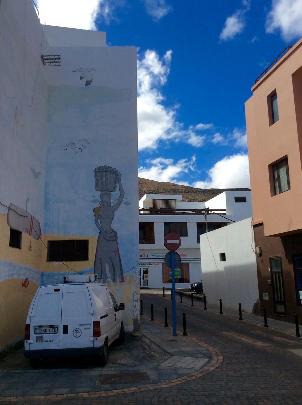 Street art Gran Tarajal Fuerteventura 3