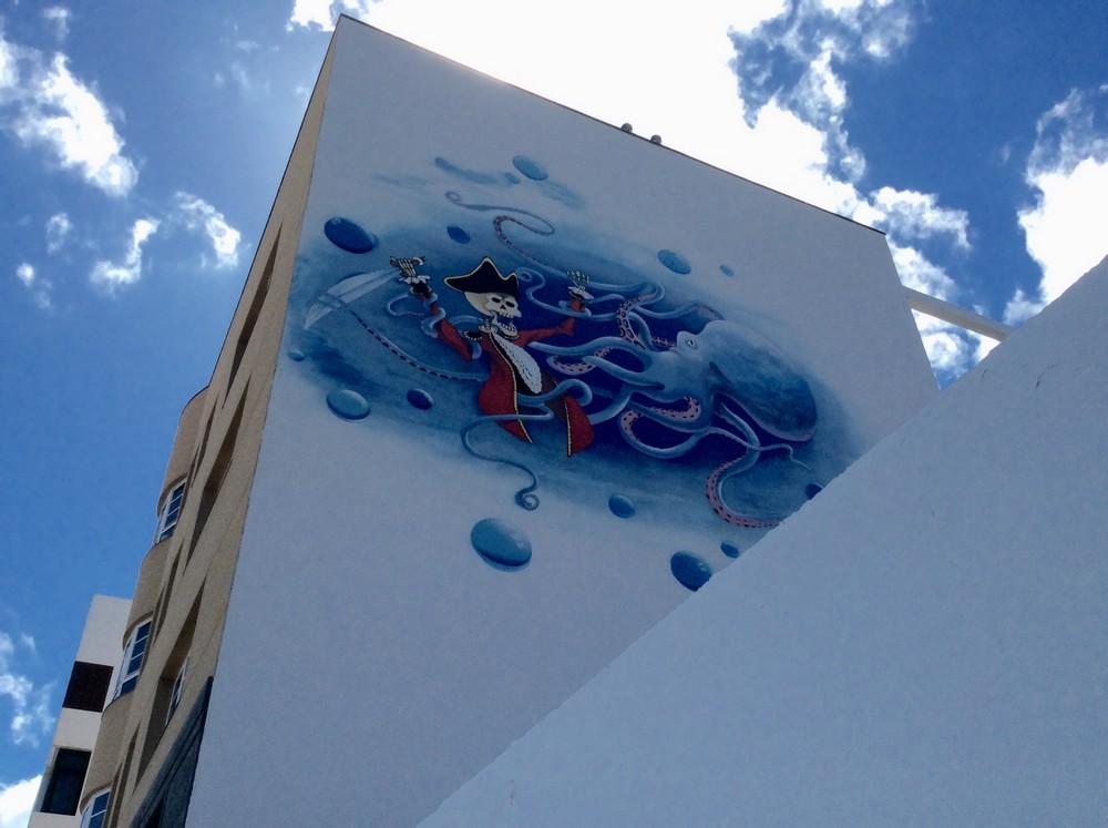 Street art Gran Tarajal Fuerteventura 4