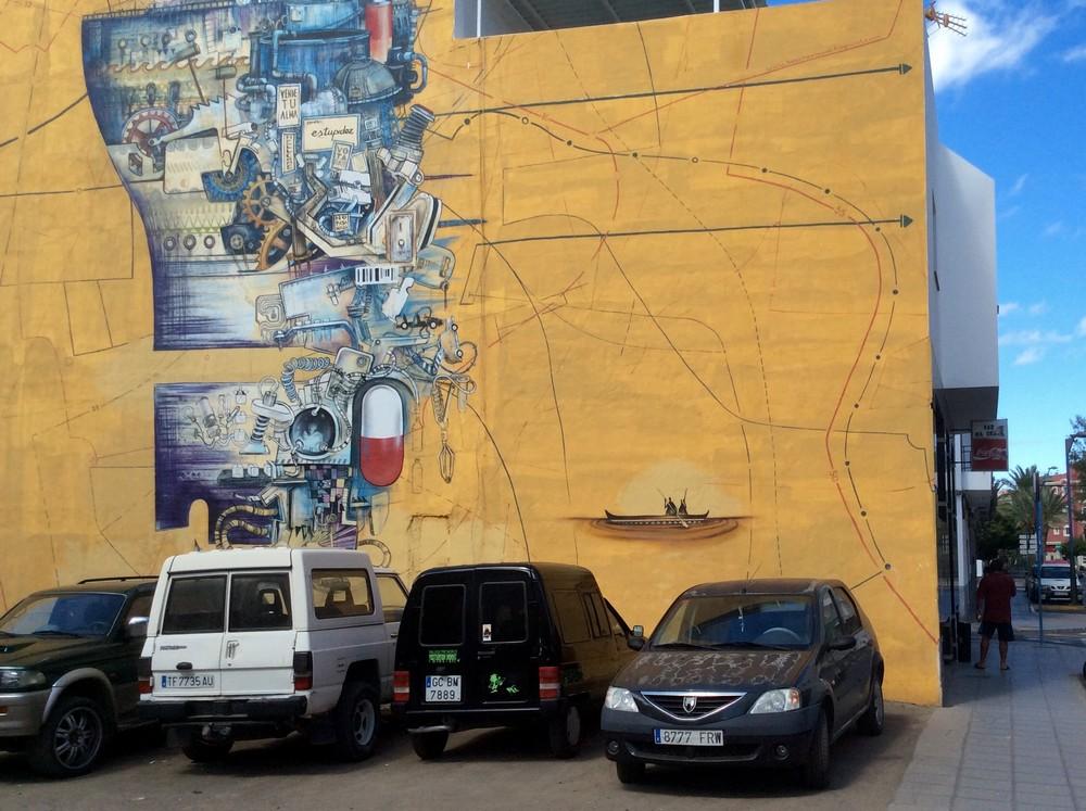 Street art Gran Tarajal Fuerteventura 6