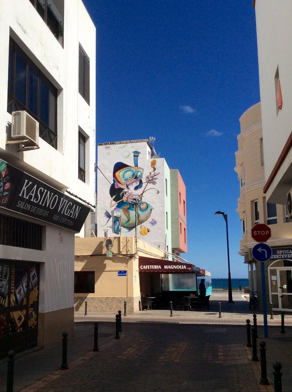 Street art Gran Tarajal Fuerteventura 7