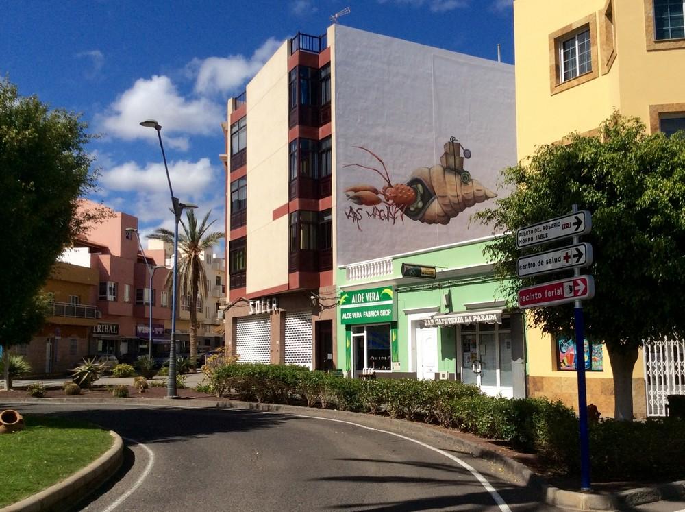 Street art Gran Tarajal Fuerteventura 9