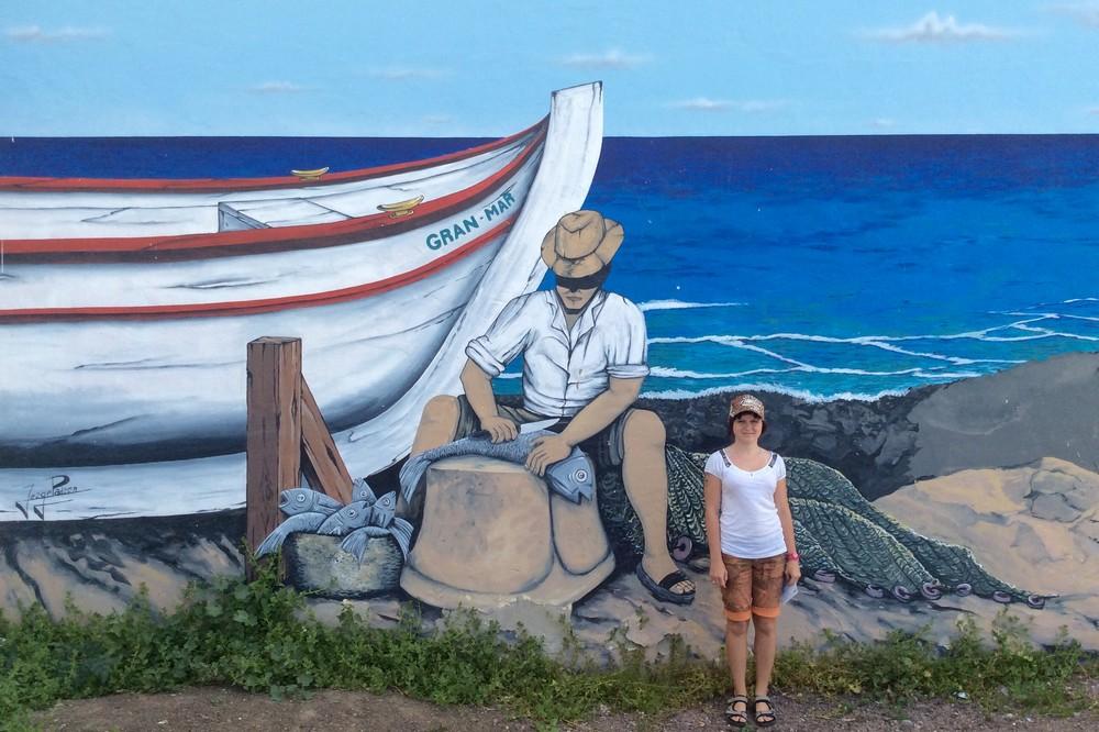 Una - Street art Gran Tarajal Fuerteventura