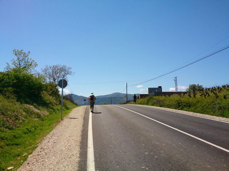 Walking Camino de Santiago, Spain