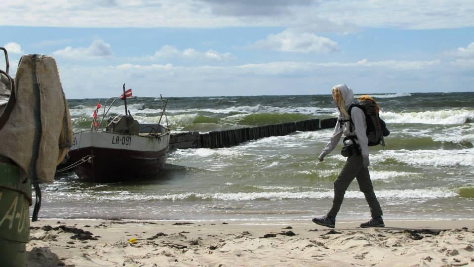 Zaiga by the sea - walking across Europe