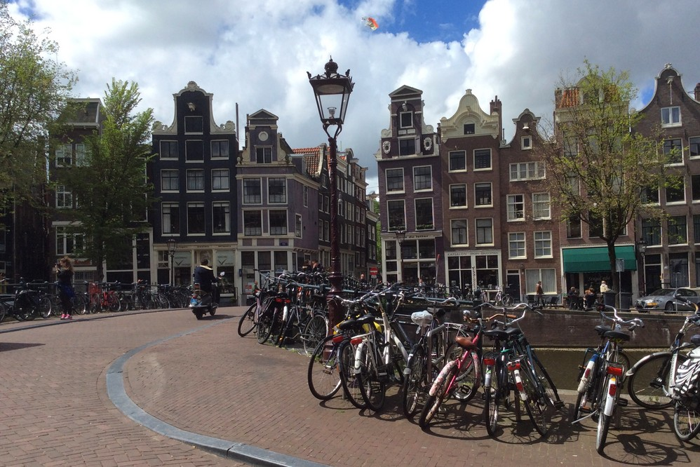 A lot of cycles in Amsterdam city center