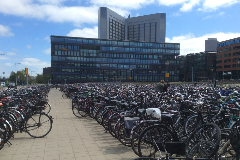 A lot of cycles in Amsterdam