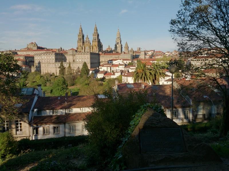 In Santiago de Compostella, Spain