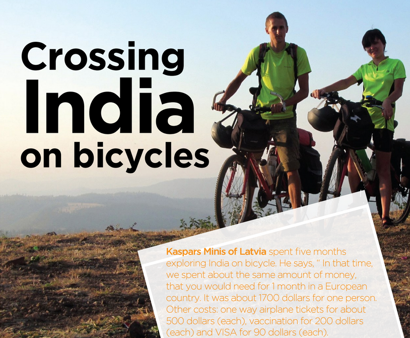 crossing India on bicycles - Travel Secrets - media