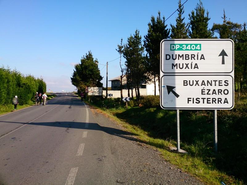 On ou way to Finiesterre, last day of Camino de Santiago