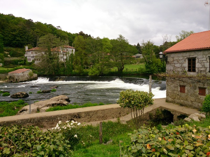 River, Walking Camino de Santiago, Spain