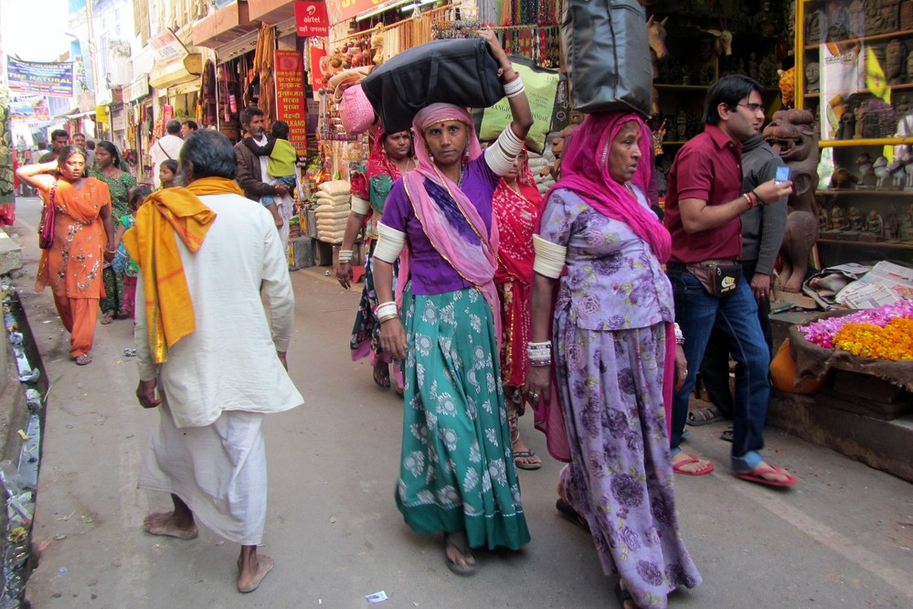 women India Pushkar