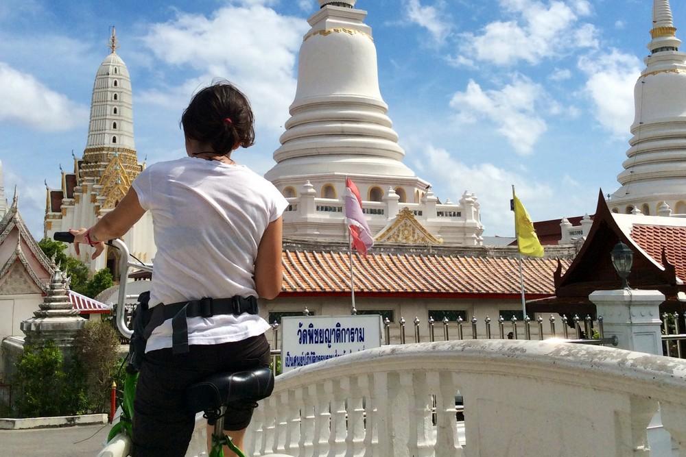 Una cycling Bangkok Thailand