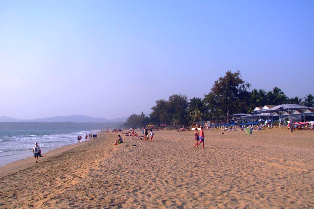 Agonda beach in Goa, India - Best Beaches in Goa