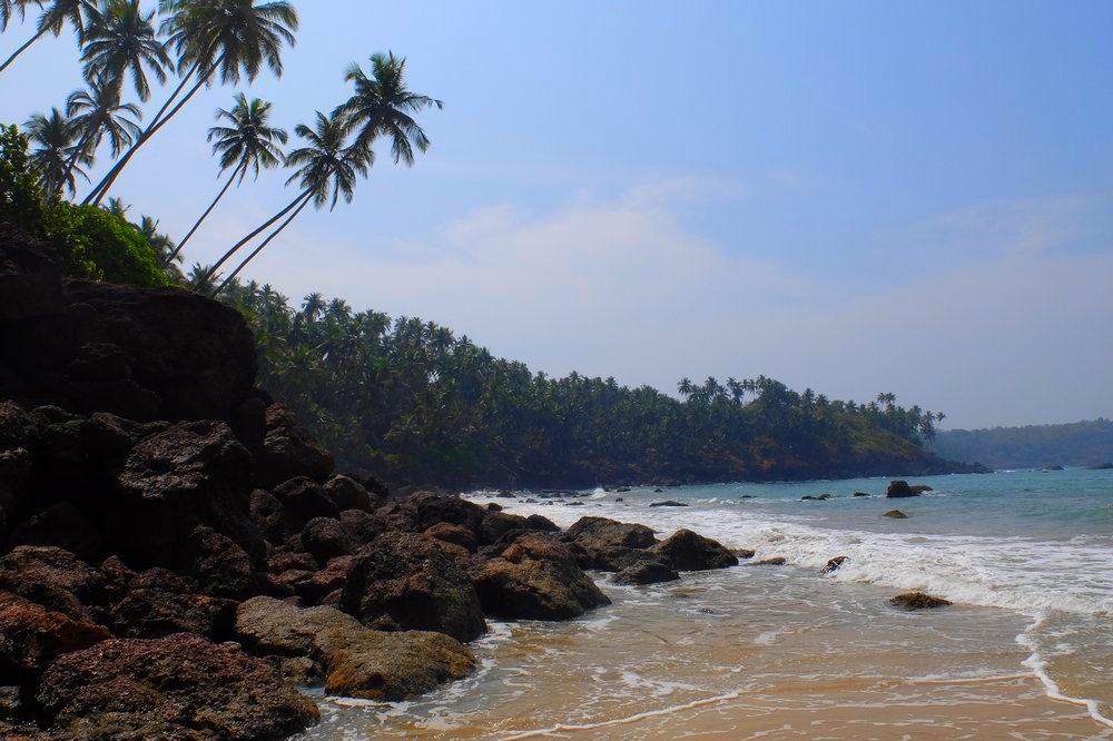 Cabo de Rama beach Goa, left side - Best Beaches in Goa