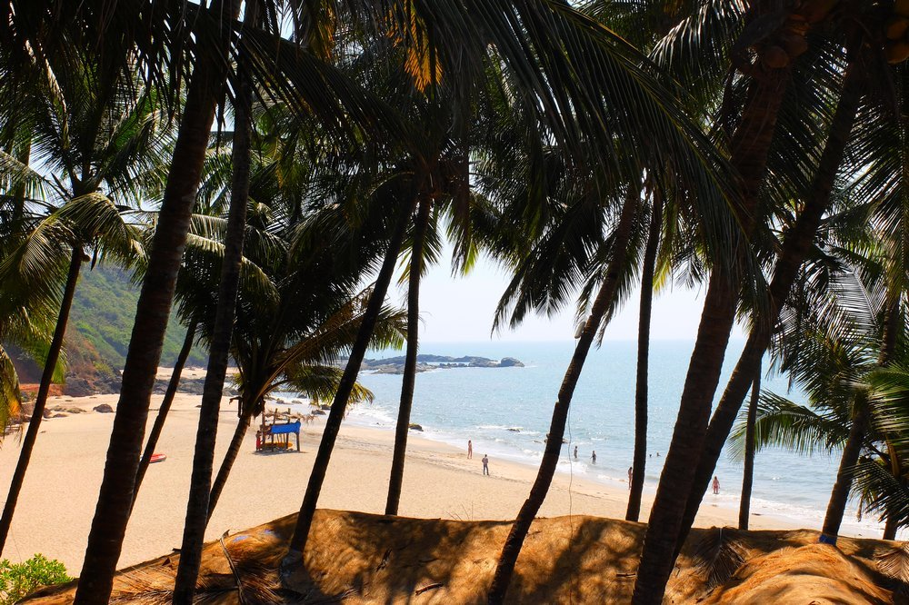 Cola beach Goa India - Best Beaches in Goa