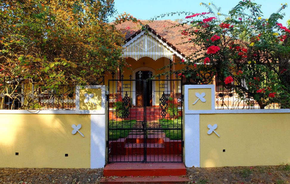 House in Carmona Goa India