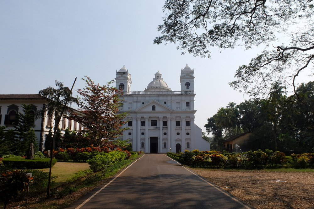 In Old Goa, India