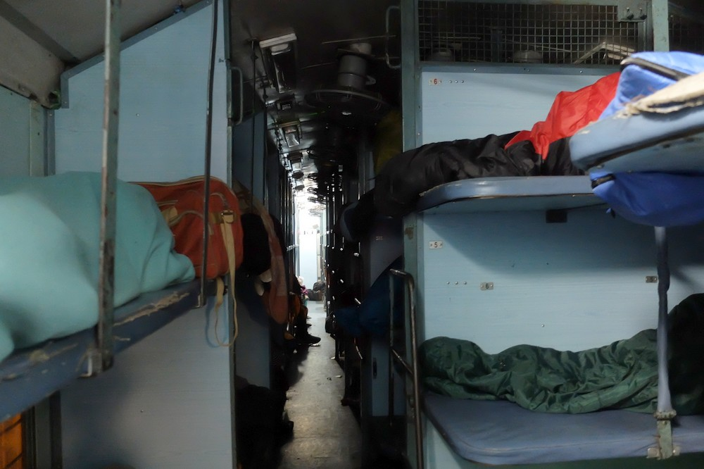 Sleeper class - Traveling By Train in India