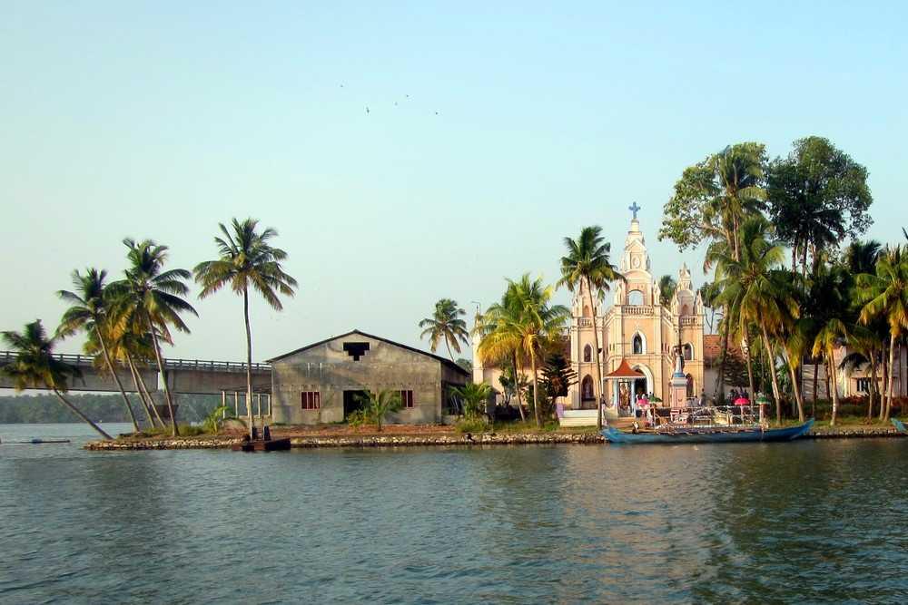 Church - Kerala Backwaters tour