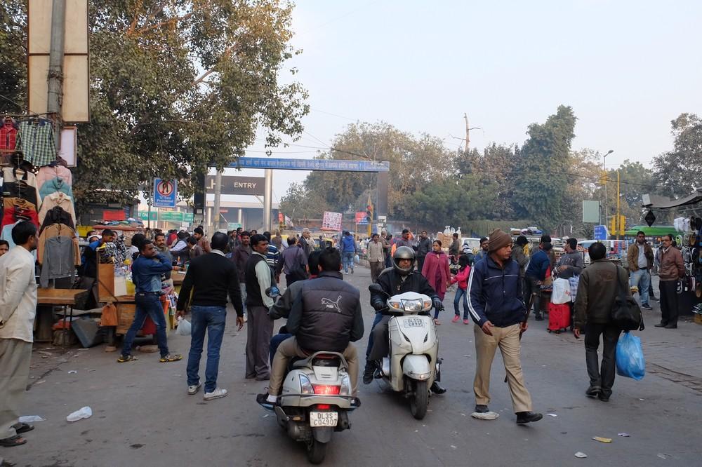 New Delhi train station area