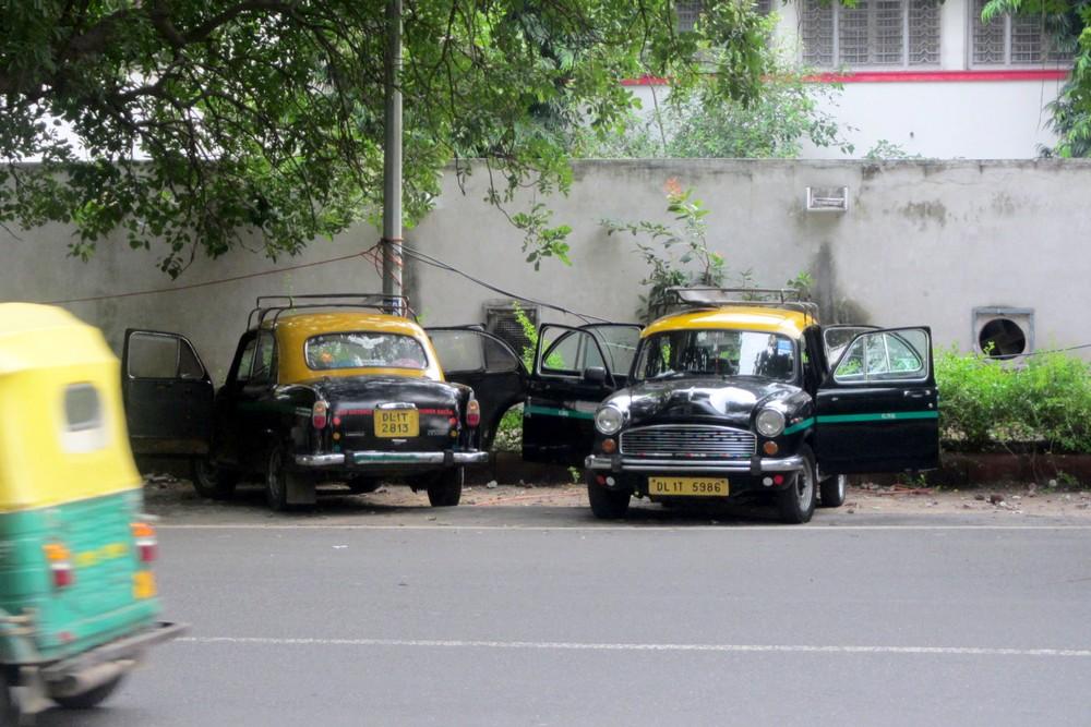 Taxis in Delhi