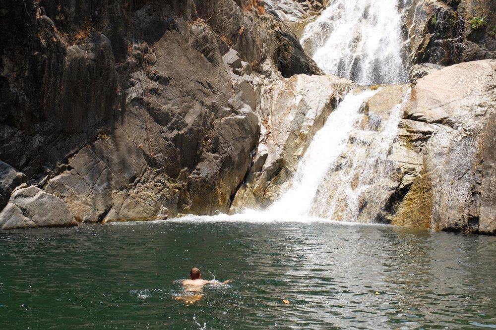 Lomplok waterfall near Trang