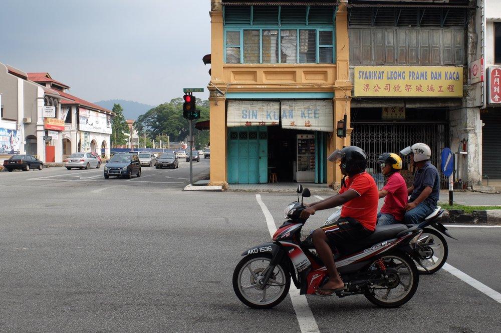 motorbikes in Taiping Malaysia